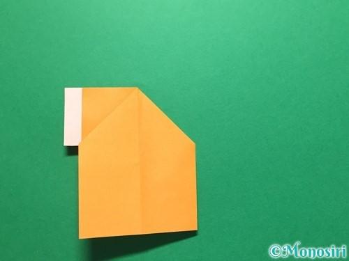 折り紙でレインブーツの折り方手順17