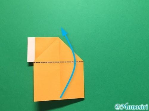 折り紙でレインブーツの折り方手順18