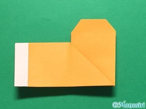 折り紙でレインブーツの折り方手順23