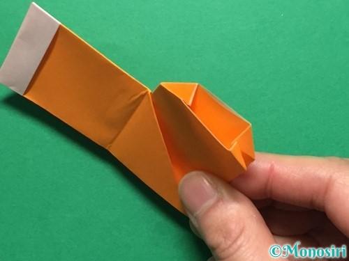 折り紙でレインブーツの折り方手順26