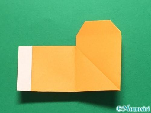 折り紙でレインブーツの折り方手順27