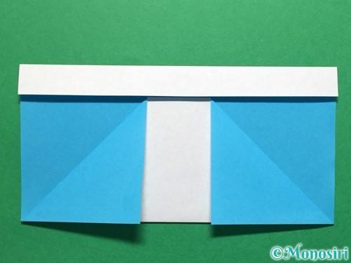折り紙で立体的なレインブーツの折り方手順6