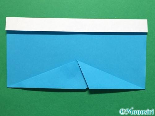 折り紙で立体的なレインブーツの折り方手順10