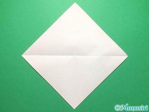 折り紙でランドセルの作り方手順2