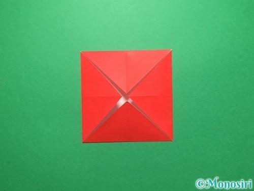 折り紙でランドセルの作り方手順4