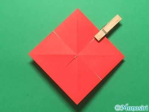 折り紙でランドセルの作り方手順8