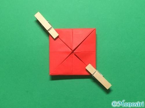 折り紙でランドセルの作り方手順10