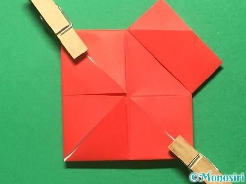 折り紙でランドセルの作り方手順13