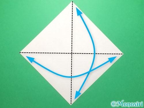 折り紙でランドセルの作り方手順18