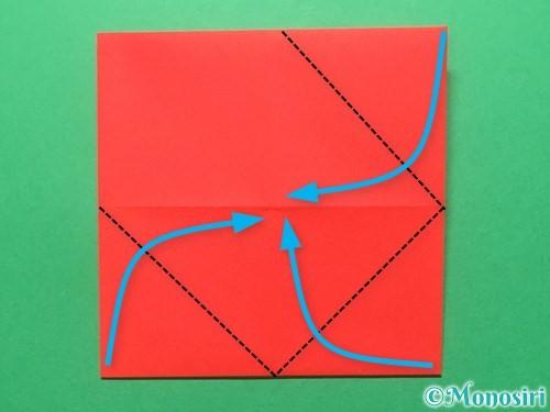 折り紙でランドセルの作り方手順23