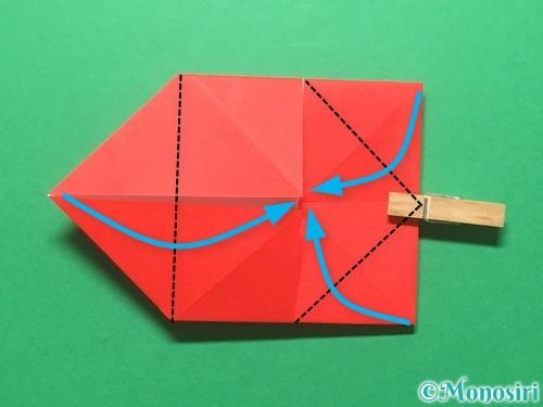 折り紙でランドセルの作り方手順26
