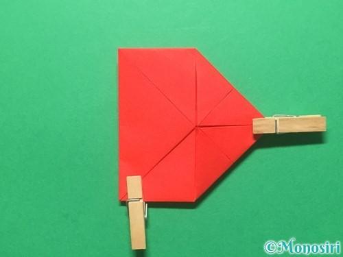 折り紙でランドセルの作り方手順27
