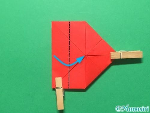 折り紙でランドセルの作り方手順28