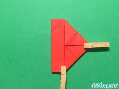 折り紙でランドセルの作り方手順29