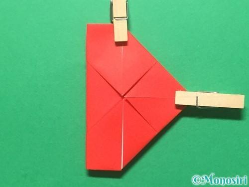 折り紙でランドセルの作り方手順30
