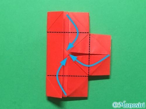 折り紙でランドセルの作り方手順36
