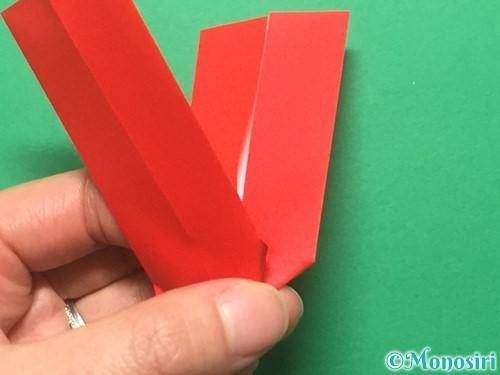 折り紙でランドセルの作り方手順59