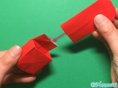 折り紙でランドセルの作り方手順74