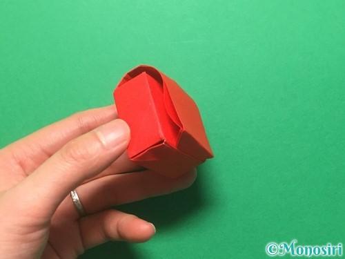 折り紙でランドセルの作り方手順79