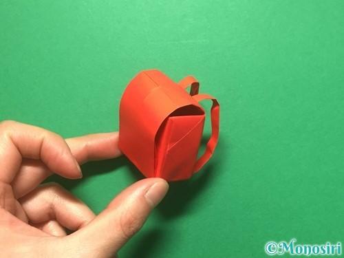 折り紙でランドセルの作り方手順86