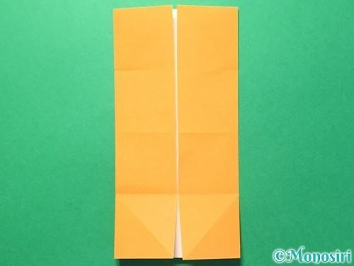 折り紙でメダルの折り方手順8
