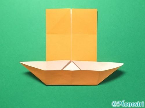折り紙でメダルの折り方手順10