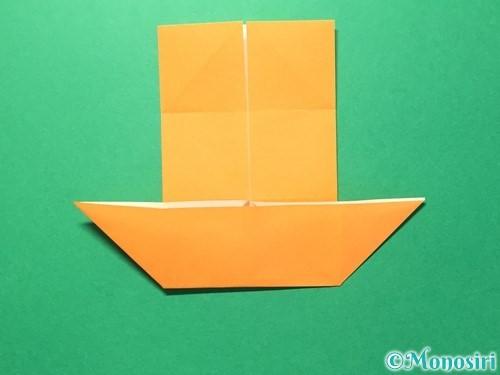 折り紙でメダルの折り方手順11