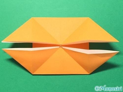 折り紙でメダルの折り方手順14