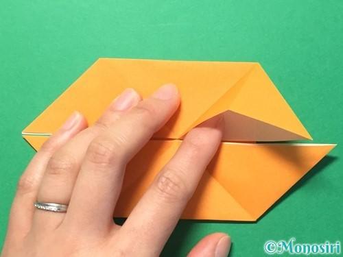 折り紙でメダルの折り方手順15