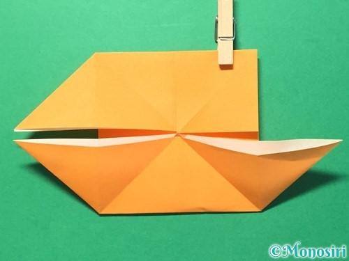 折り紙でメダルの折り方手順17