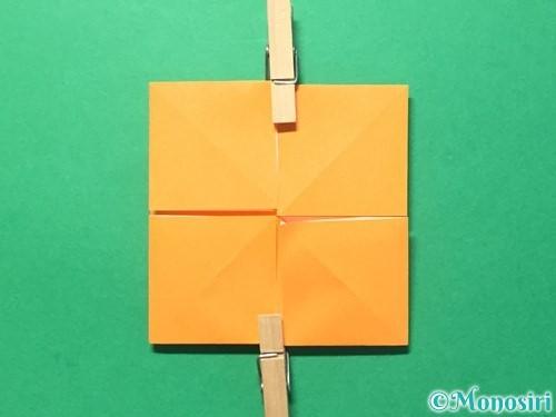 折り紙でメダルの折り方手順18