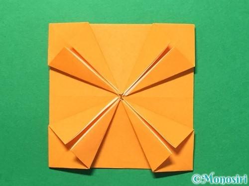 折り紙でメダルの折り方手順20