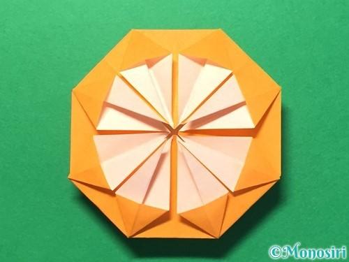 折り紙でメダルの折り方手順26