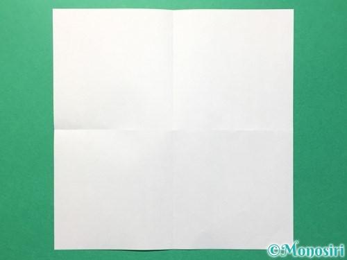 折り紙でひまわりの折り方手順28