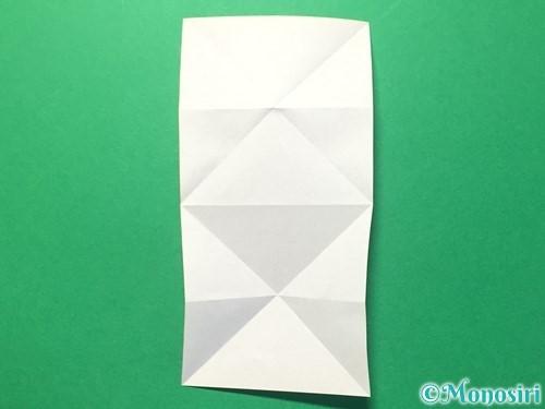 折り紙でハートのメダルの折り方手順12