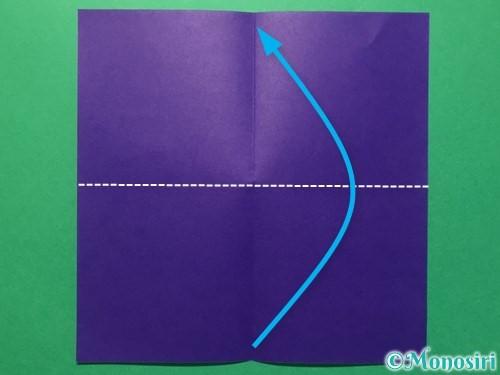 折り紙で体操着の折り方手順3