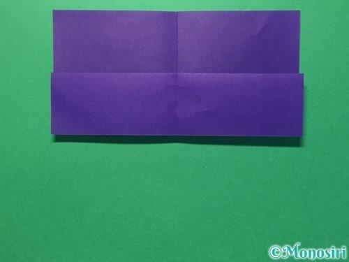折り紙で体操着の折り方手順6