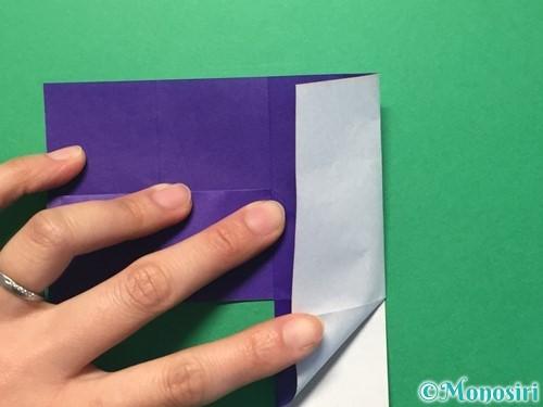 折り紙で体操着の折り方手順13