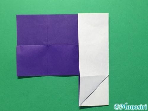 折り紙で体操着の折り方手順14