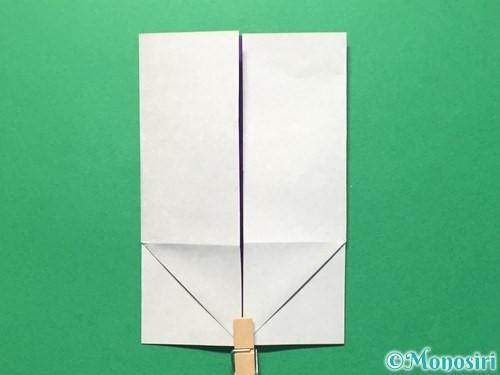 折り紙で体操着の折り方手順15