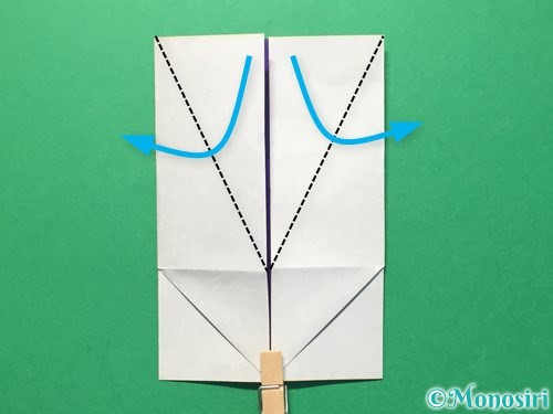 折り紙で体操着の折り方手順16