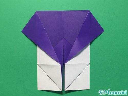 折り紙で体操着の折り方手順17