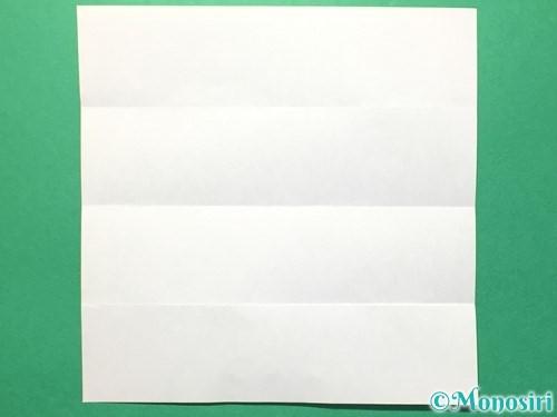 折り紙で数字の0の折り方手順4