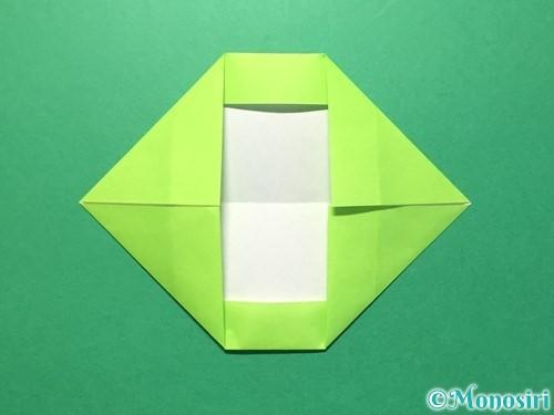 折り紙で数字の0の折り方手順8