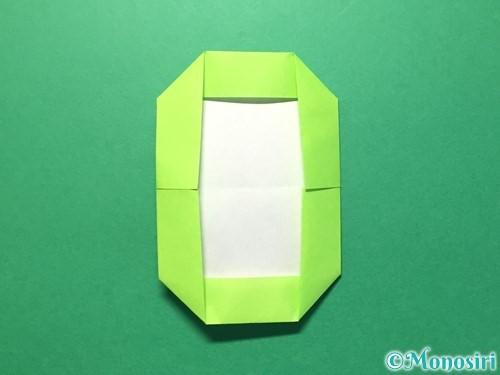折り紙で数字の0の折り方手順10