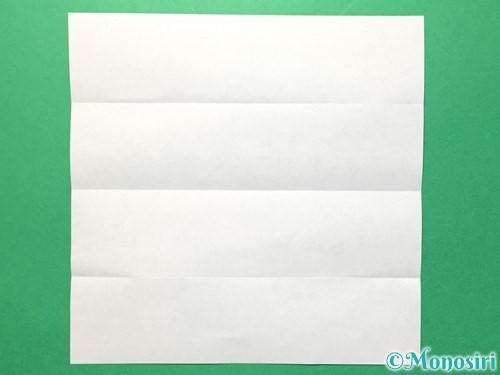 折り紙で数字の1の折り方手順4