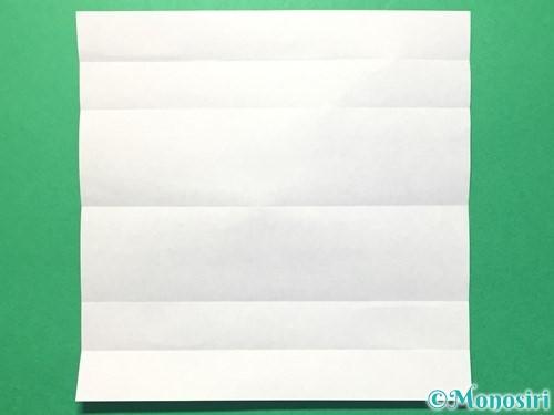 折り紙で数字の1の折り方手順6