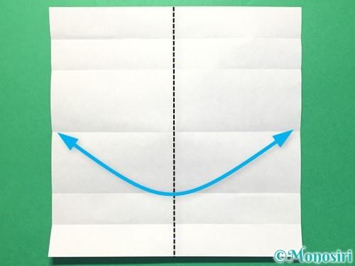 折り紙で数字の1の折り方手順7