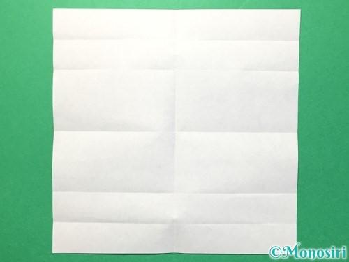 折り紙で数字の1の折り方手順8