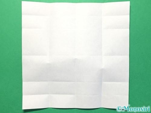 折り紙で数字の1の折り方手順10
